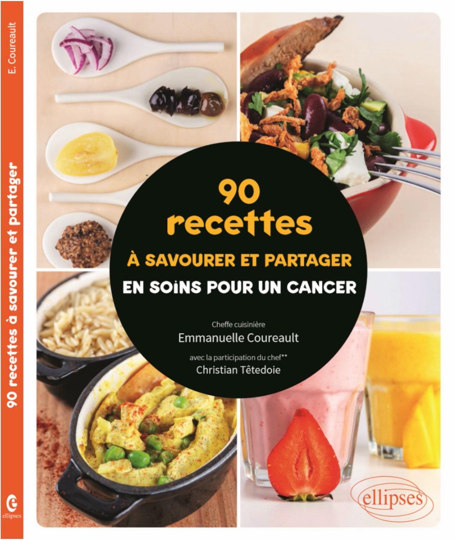 Publication d'un livre de recettes adaptées aux personnes en cours de traitement et à leur entourage